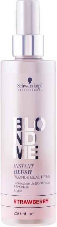 Spray do delikatnej koloryzacji włosów - Schwarzkopf Professional BlondMe Instant Blush Spray — фото N2