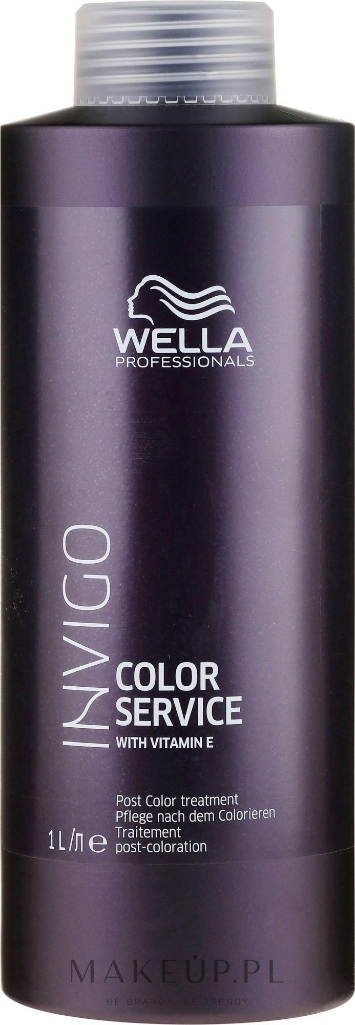 Intensywna kuracja stabilizująca włosy po koloryzacji - Wella Invigo Color Service Post Treatment — фото 1000 ml