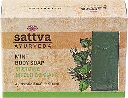 Kup Mydło w kostce do ciała Mięta - Sattva Ayurveda Mint Body Soap