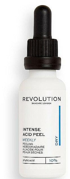 Intensywny peeling kwasowy do cery suchej - Revolution Skincare Intense Acid Peel For Dry Skin — фото N1