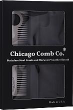 Kup Grzebień do włosów - Chicago Comb Co Giftbox Model No. 1 RVS + Hoesje