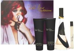 Kup Rihanna Reb'l Fleur - Zestaw (edp/100ml + edp/10ml + b/l/90ml + sh/g/90ml)