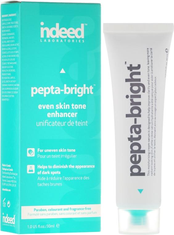 Serum rozjaśniające przebarwienia i ujednolicające koloryt skóry - Indeed Laboratories Pepta-Bright Even Skin Tone Enhancer — фото N1