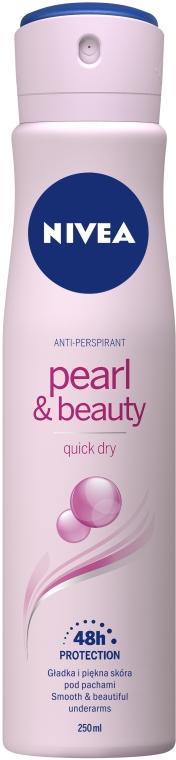 Antyperspirant w sprayu Pearl & Beauty - Nivea Pearl & Beauty Deodorant Spray