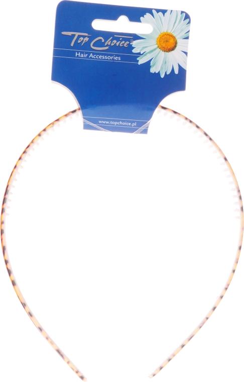 Opaska do włosów 27505, lampart - Top Choice — фото N1