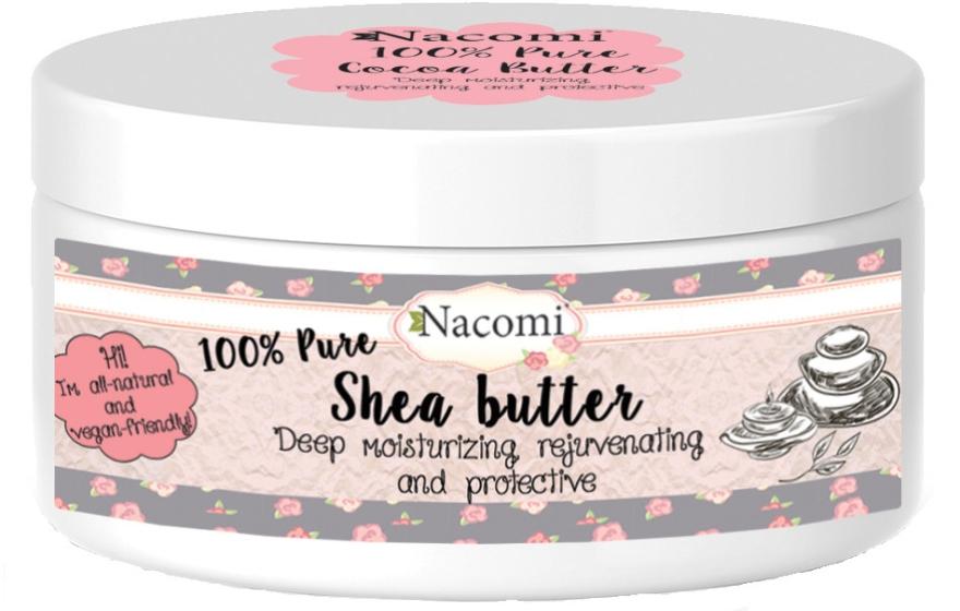 Masło shea - Nacomi Natural Shea Butter