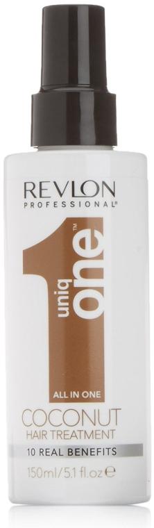 Kokosowa maska do włosów w sprayu 10 w 1 - Revlon Professional Uniq One Coconut Hair Treatment
