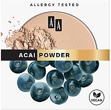 Kup Matujący puder prasowany do twarzy Jagody acai - AA Mattifying Powder