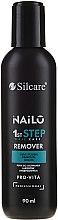 Kup Płyn do usuwania lakierów hybrydowych - Silcare Nailo Remover