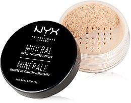 Kup Mineralny puder utrwalający do twarzy - NYX Professional Makeup Mineral Matte Finishing Powder
