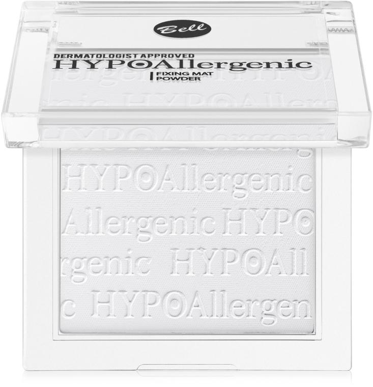 Hipoalergiczny puder utrwalający makijaż - Bell HYPOAllergenic Fixing Mat Powder
