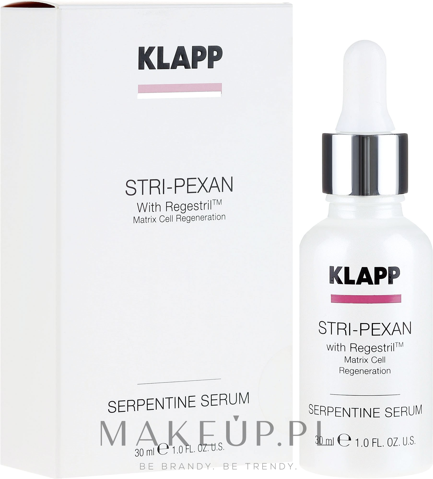 Liftingujące serum do twarzy - Klapp Stri-PeXan Serpentine Concantrate — фото 30 ml