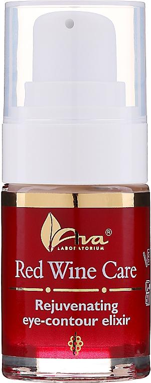 Odmładzający eliksir pod oczy do skóry dojrzałej - AVA Laboratorium Red Wine Care Concentrated Serum