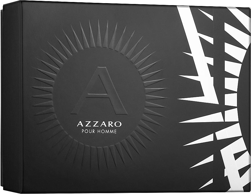 Azzaro Pour Homme - Zestaw (edt 50 ml + deo 75 ml) — фото N1