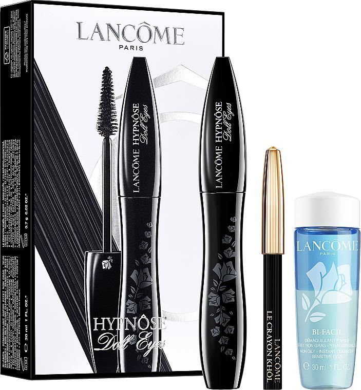 Zestaw - Lancome Hypnose (mascara/ 6.5 ml + pencil/ 0.7 g + demaq/ 30 ml)