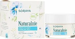 Kup Nawilżający krem do twarzy na noc - Soraya Naturalnie