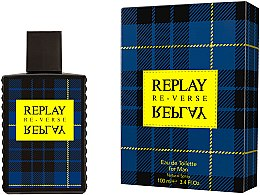 Kup Replay Signature Re-verse For Men - Woda toaletowa