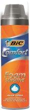 Kup Energetyzująca pianka do golenia - Bic Comfort Foam Sensitive