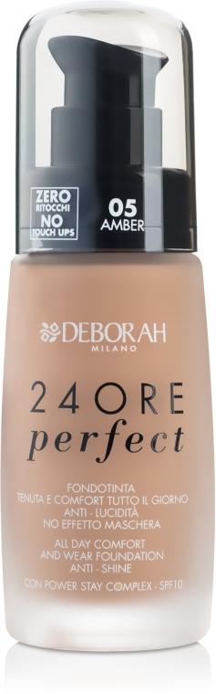 Długotrwały podkład w płynie - Deborah 24Ore Perfect Foundation
