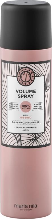 Lakier dodający włosom objętości - Maria Nila Volume Spray — фото N2