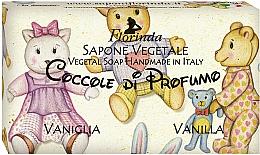 Kup Mydło naturalne w kostce Wanilia - Florinda Sapone Vegetale Vegetal Soap Vanilla