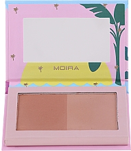 Kup Bronzer do twarzy - Moira Island Queen Bronzed Goddess Duo