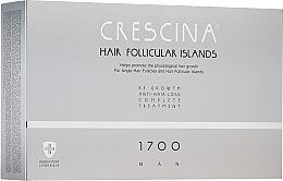 Kup Kuracja dla mężczyzn stymulująca wzrost włosów i hamująca ich wypadanie 1700 - Crescina Hair Follicular Islands Man Complete Treatment 1700