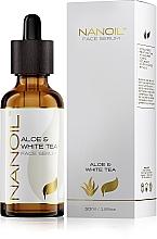 Kup Serum do twarzy dla wszystkich rodzajów cery z aloesem i białą herbatą - Nanoil Aloe & White Tea Face Serum