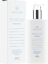 Kup Odbudowujący szampon do włosów suchych i zniszczonych - Halier Re:scue Shampoo