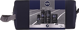 Kup Zestaw - Nivea Men Deep Control 2020 (sh/gel/250ml + ash/lot/100ml + foam/200ml + deo/50ml + bag)