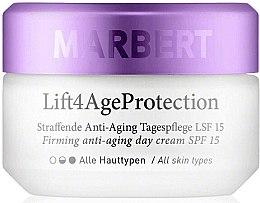 Kup Ujędrniający krem do twarzy na dzień - Marbert Lift4Age Protection Firming Anti-Aging Day Care SPF 15