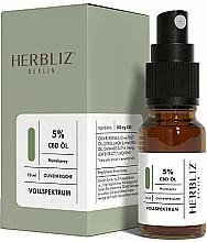"""Kup Spray do ust """"Oliwkowa świeżość"""" 5% - Herbliz CBD Olive Fresh Oil Mouth Spray 5%"""