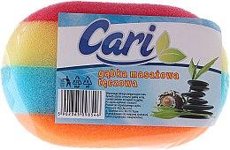 Kup Tęczowa gąbka masażowa do kąpieli 4 - Cari