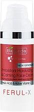 Kup Antyoksydacyjny krem nawilżająco-łagodzący do twarzy - Bielenda Professional Ferul-X Antioxidant Moisturizing & Calming Face Cream