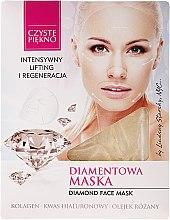 Kup Diamentowa maska w płacie Intensywny lifting i regeneracja - Czyste Piękno