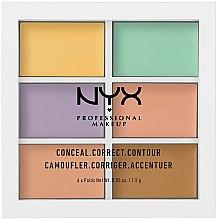 Kup Paletka kremowych korektorów do twarzy - NYX Professional Makeup Color Correcting Palette