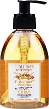 Kup Cytrusowe mydło w płynie - Collines de Provence Purifying Citrus Soap