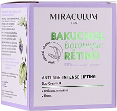 Kup Intensywnie liftingujący krem do twarzy na dzień - Miraculum Bakuchiol Botanique Retino Anti-Age Intensive Lifting