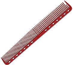 Kup Grzebień do strzyżenia z płaskimi zębami, 180 mm, czerwony - Y.S.Park Professional 339 Cutting Combs Red