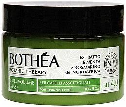 Kup Maska dodająca włosom cienkim objętości - Bothea Botanic Therapy Full-Volume Mask pH 4.0
