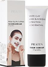 Kup PRZECENA! Maska peel-off oczyszczająca pory z glinką białą - Pilaten White Clay Mask Blackhead Extraction Acne Removal *