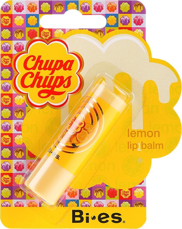 Pomadka ochronna do ust o zapachu cytryny - Bi-es Chupa Chups Lemon