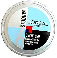 Kup Włóknisty krem do stylizacji Efekt potarganych włosów 24 h - L'Oreal Paris Studio Line Out of Bed Cream