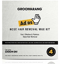 Kup Zestaw do woskowania nosa - Groomarang Adios Nose Hair Removal Wax Kit