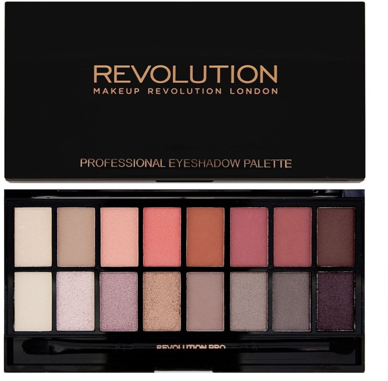 Paleta cieni do powiek - Makeup Revolution Profesional Eyeshadow Palette