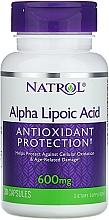 Kup Kwas alfa liponowy w kapsułkach, 600 mg - Natrol Alpha Lipoic Acid