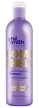 Kup Szampon do włosów rozjaśnianych wzmacniający kolor - Phil Smith Be Gorgeous Bombshell Tone Enhancing Shampoo
