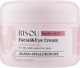 Kup Nawilżający krem do twarzy i oczu do skóry suchej i wrażliwej - Bisou Hydro Bio Facial Eye Cream
