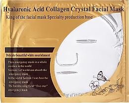 Kup Odżywcza maseczka do twarzy z kwasem hialuronowym i kolagenem - Beauty Line Hyaluronic Acid Collagen Crystal Facial Mask
