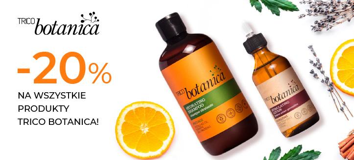 Zniżka 20% na wszystkie produkty Trico Botanica. Сeny uwzględniają zniżkę.